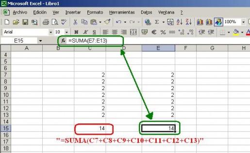 Sumar datos como texto - RedUSERS