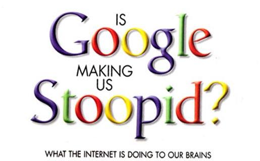Google Making Us Stupid