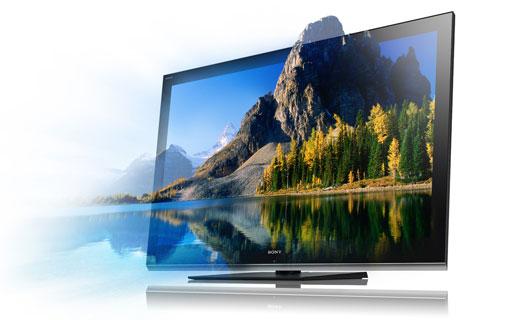 sony nos muestra la televisi n 3d que llegar este a o redusers. Black Bedroom Furniture Sets. Home Design Ideas