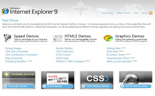 [DESCARGAR] Internet Explorer 9 Release Candidate Español