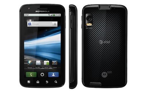 Motorola presenta un smartphone equipado con procesador dual-core