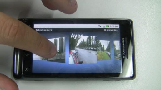 La pantalla Gorilla Glass de 3,7 pulgadas tiene una gran calidad, pero es superada por la de otros teléfonos de alta gama.