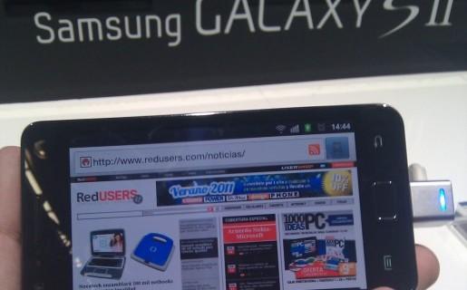 SAMSUNG GALAXY S II. Uno de los equipos más esperados por los fanáticos de Android.