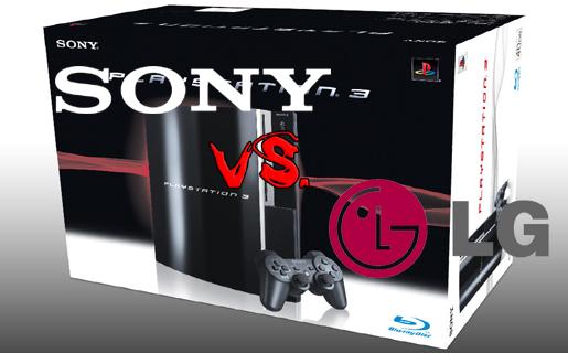 LG quiere prohibir la venta de la PS3