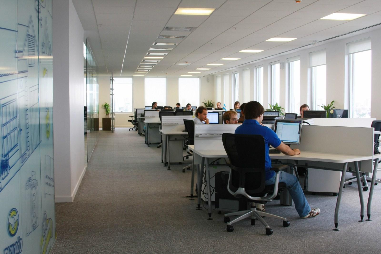 Oficina publica saludable oficinas de mercadolibre en la for Servicio de empleo
