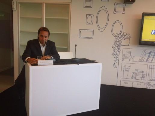 Marcos Galperín, fundador y CEO de MercadoLibre, en la inauguración.