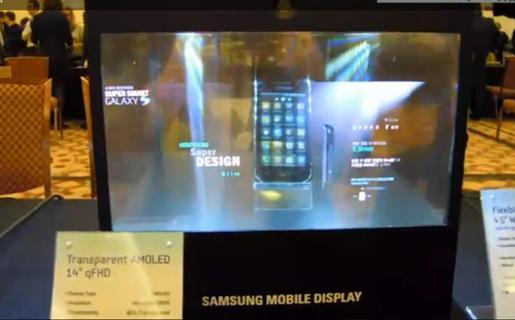 Nuevas pantallas transparentes