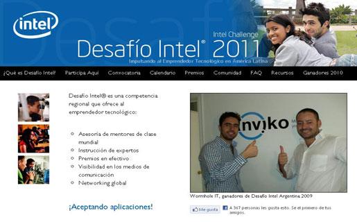 Intel anunció el Desafío Intel América Latina 2011