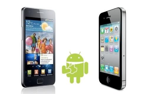 """Los equipos con Android de Samsung estarían """"homenajeando"""" a los diseños de Apple."""