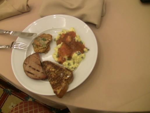 El desayuno de nuestros colegas mexicanos del diario Excelsior.