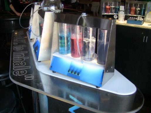 Este sistema que nos permite tomar ¿oxigeno? lo encontraremos en muchos de los hoteles de Las Vegas.
