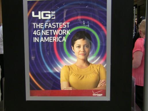 En las calles de Estados Unidos ya vemos las promociones con respecto a 4G.