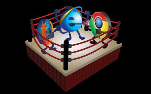 Los tres navegadores más importantes se pelean por ser el favorito de los lectores de RedUSERS.