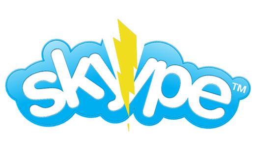 Se cayo Skype, No va a andar por un Rato