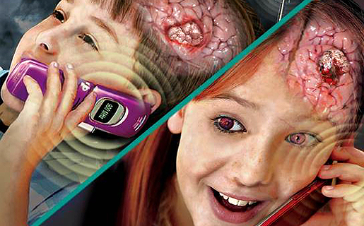 ... precisa pero dice que los celulares podrían generar cáncer cerebral