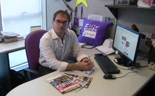 Alejandro Fishman, presidente del IAB Argentina, nos recibió en las oficinas de Yahoo! Argentina donde se desempeña como Director General.
