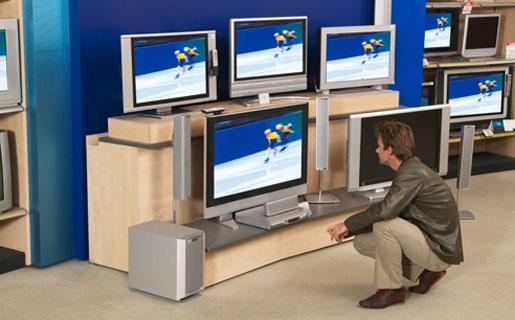 Los TV se venderán a 60 cuotas de entre 58 y 90 pesos.