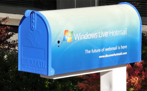 Hotmail es el e-mail más usado del mundo con más de 350 millones de usuarios en todo el planeta.