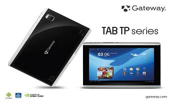 La nueva tablet Gateway TP-A60