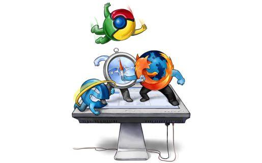 Chrome sigue creciendo y ahora mira desde lo más alto a sus competidores.