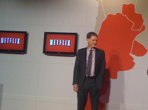 Reed Hasting en persona, cofundador y director general de Netflix, vino a Buenos Aires a presentar el servicio.