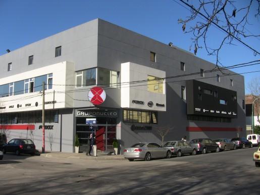 Aquí vemos la entrada de la fábrica, situada en la ciudad de Mar del Plata.