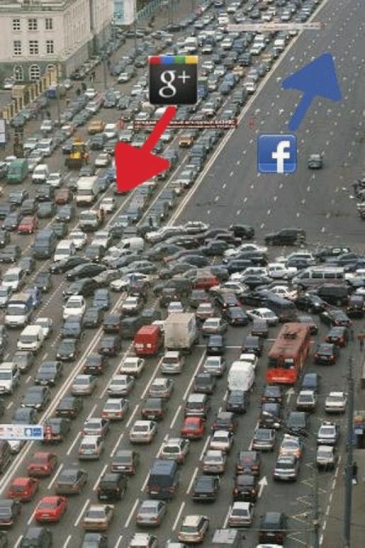 ¿Migrarán los usuarios de Facebook a Google Plus?