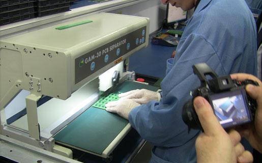 Planta de fabricación de memorias Eurocase del Grupo Núcleo, recientemente inaugurada.