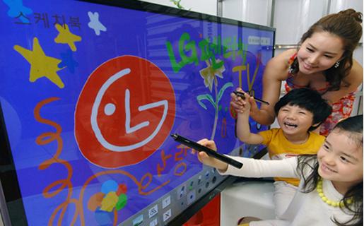 El nuevo televisor de LG combina lo último en tecnología de plasma con la facilidad de uso que otorgan las pantallas touch.