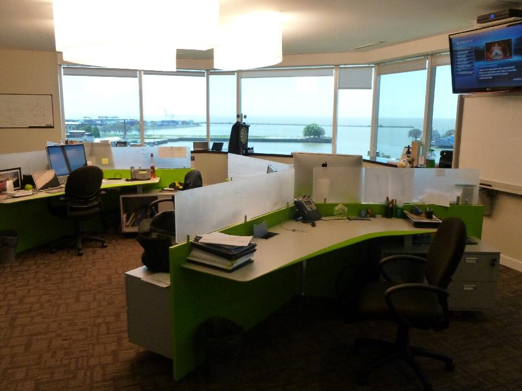 Galer a de im genes las nuevas oficinas de globant en for Espacios de oficina