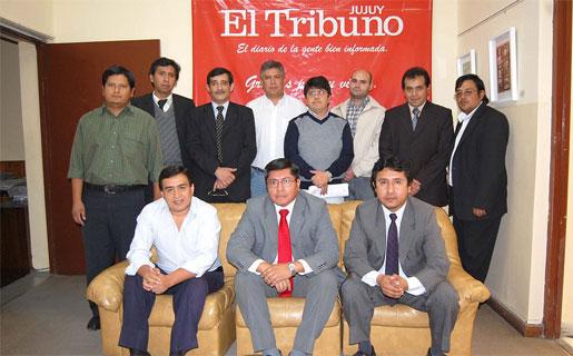 Miembros del Frente Tecnológico Peronista