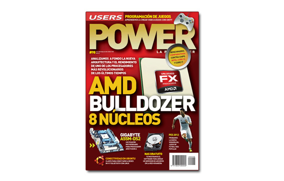 Power 98: AMD Bulldozer 8 núcleos