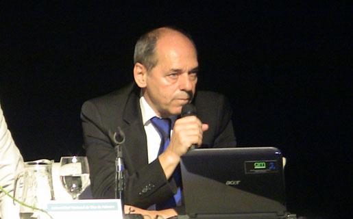 Pablo Fontdevila, gerente ejecutivo de Conectar Igualdad, durante el IV Encuentro NeoTVLab.