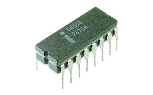 El Intel 4004 tenía 2.300 transistores. Un micro de la familia Core posee 560 millones.