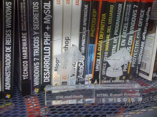Ambos premios (el del 2010 y este del 2011) ya forman parte de nuestra biblioteca USERS.