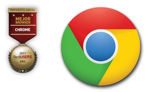 Google Chrome imparable: fue elegido por el 53 por ciento.