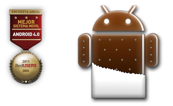 Android Ice Cream Sandwich promete más funcionalidades y gracias a ello se coronó como el mejor sistema operativo móvil.