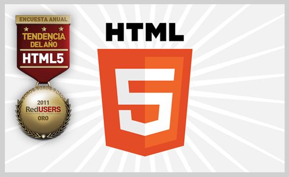 """Aunque aún no despegó, HTML5 revolucionará la Web. Y los lectores de RedUSERS le dieron todo su apoyo en la """"Tendencia del año""""."""