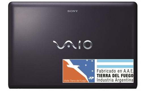 Sony comenzará a producir su linea de laptops Vaio en Argentina.
