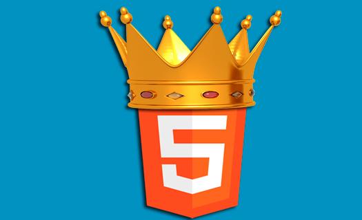 HTML5 es el nuevo rey de la Web