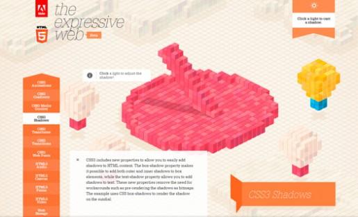 HTML5 y CSS3 combinados permiten crear sitios sorprendentes