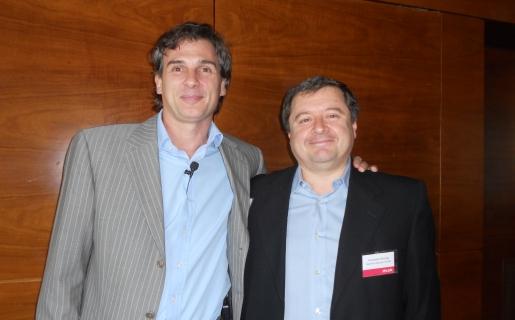 Pablo Saubidet y Fernando Devesa, de IPlan.