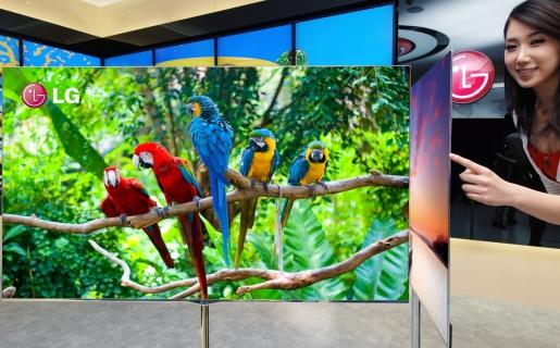 Los nuevos televisores OLED de LG sólo miden 4 mm de espesor.