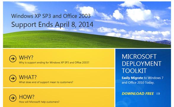 Microsoft ofrece herramientas para facilitar la migración a Windows 7 y Office 2010.