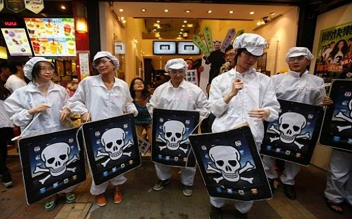 Resultado de imagen para protestas laborales en china
