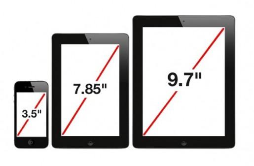 Según fuentes de Samsung consultadas por un medio coreano, Apple lanzaría a fin de año un iPad de 7,85 pulgadas.