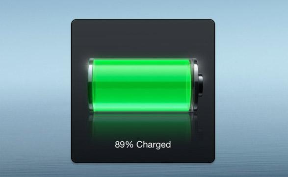 """El indicador del nivel de batería del nuevo iPad es muy inexacto; aunque marque el 100% está """"mintiendo""""."""