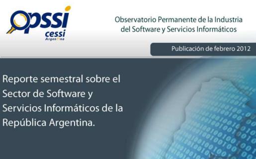 El OPSSI publicó su reporte anual sobre la situación de la industria del software local.