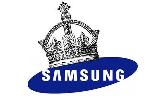 Samsung se corona al tope en la preferencia de los usuarios de smartphones.
