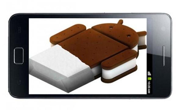 ¡Por fin! Android Ice Cream Sandwich en el Samsung Galaxy S II